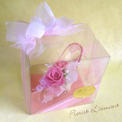 プリンセスローズ(ピンク)【プリザーブドフラワー】【母の日】